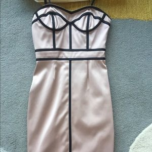 Jill Stuart satin bustier dress size 0